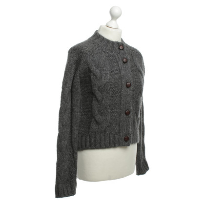 Ganni Cardigan in grey