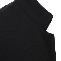 Yves Saint Laurent Jurk in zwart