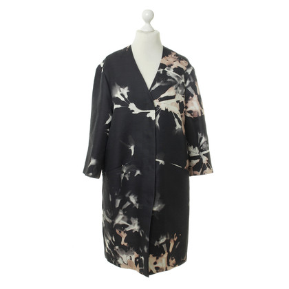 Rena Lange Coat dress with Pusteblumenprint