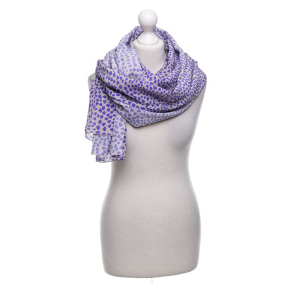 St. Emile silk scarf with pattern