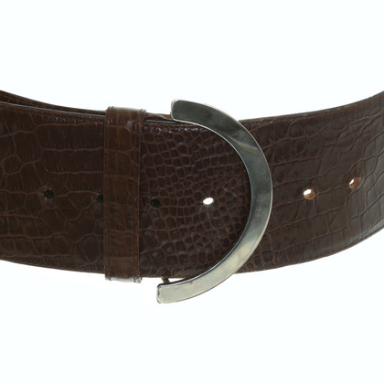 Giorgio Armani Belt in Brown