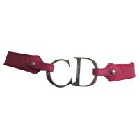Christian Dior Pink logo rings