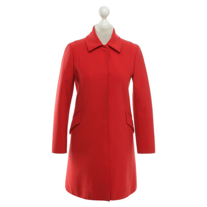 Jil Sander Coat in red
