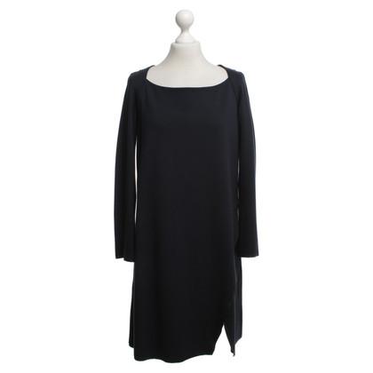 Cos Jersey-Kleid in Dunkelblau