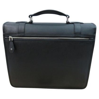 Aigner Saffiano Briefcase