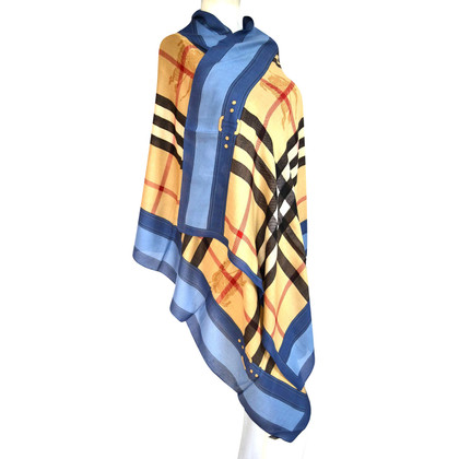 Burberry XXL scarf with cashmere