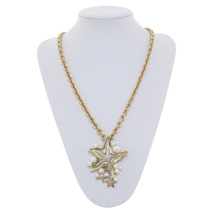 Oscar de la Renta Necklace with starfish-pendant