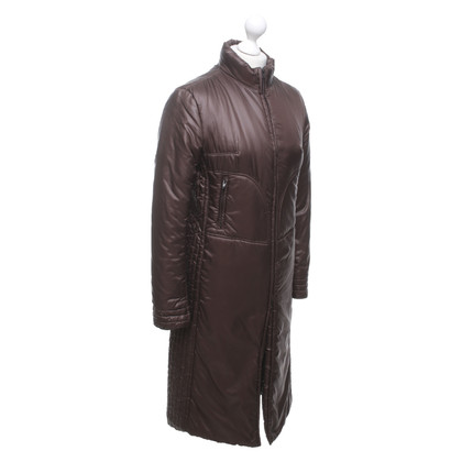Plein Sud Quilted coat in brown