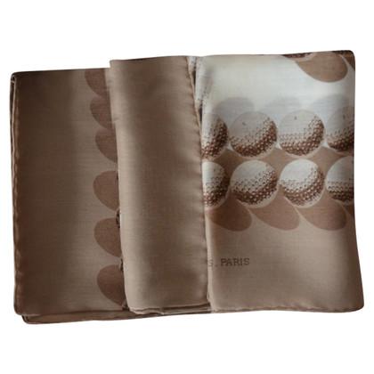 Hermès Tuch mit Golfball-Print