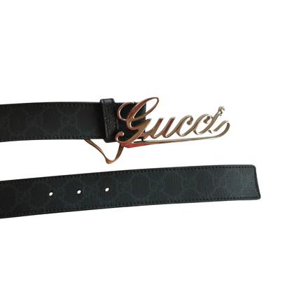Gucci Black Gucci Belt