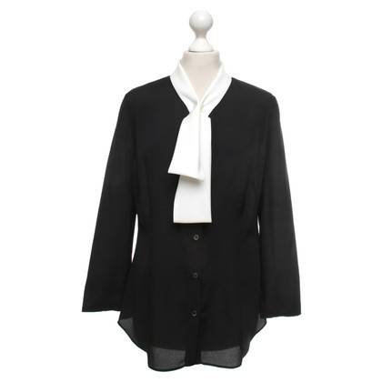 Aquazzura Blouse in black and white