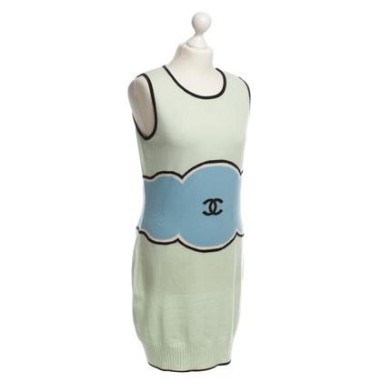 Chanel Kasjmier jurk in kleurrijke