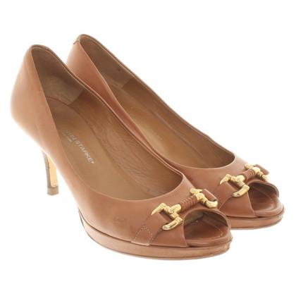 Konstantin Starke Peep-Toes in brown