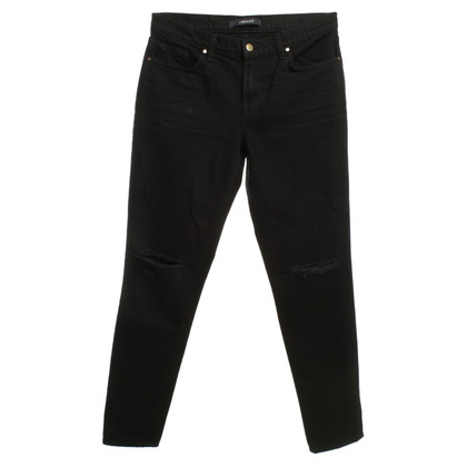 J Brand Boyfriend Jeans in Black