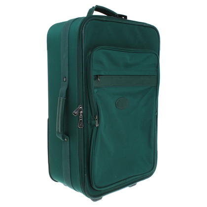 Longchamp Valigia verde