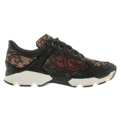René Caovilla Sneakers with lace