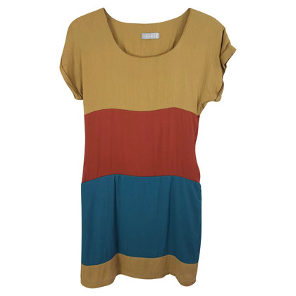 Sandro colorblock jurk