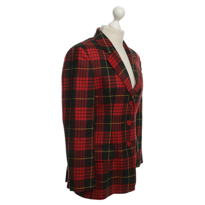 Moschino Cheap and Chic Blazer Checked