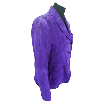 Ralph Lauren Suèdejasje in purple