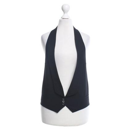 Ann Demeulemeester Vest in zwart