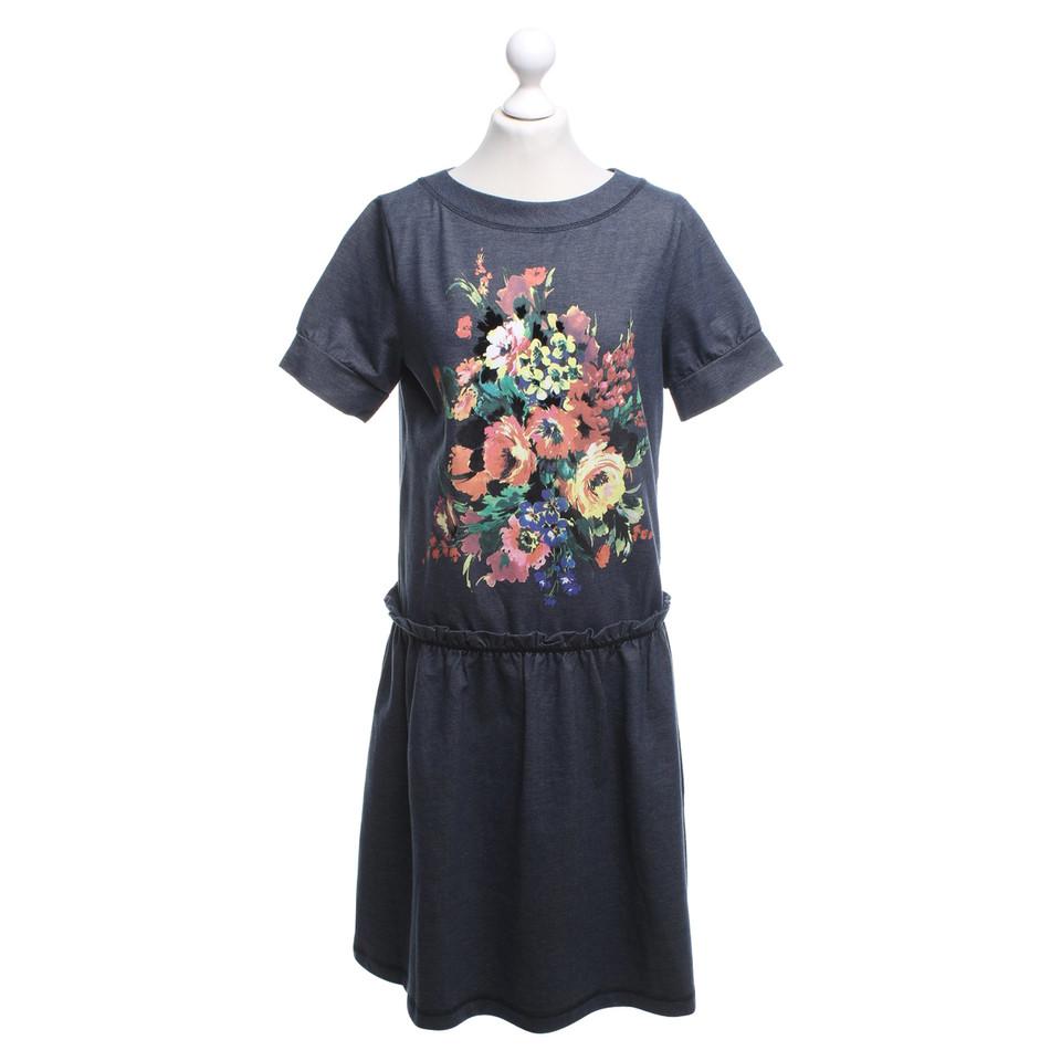 moschino love robe avec imprim floral acheter moschino love robe avec imprim floral second. Black Bedroom Furniture Sets. Home Design Ideas