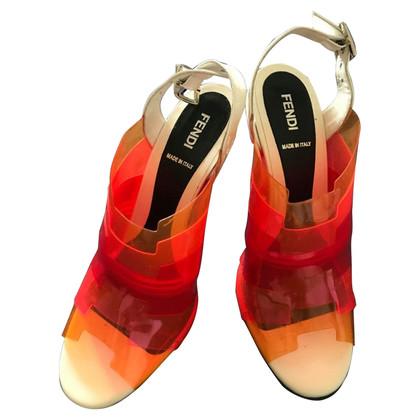 Fendi Multi-gekleurde sandalen