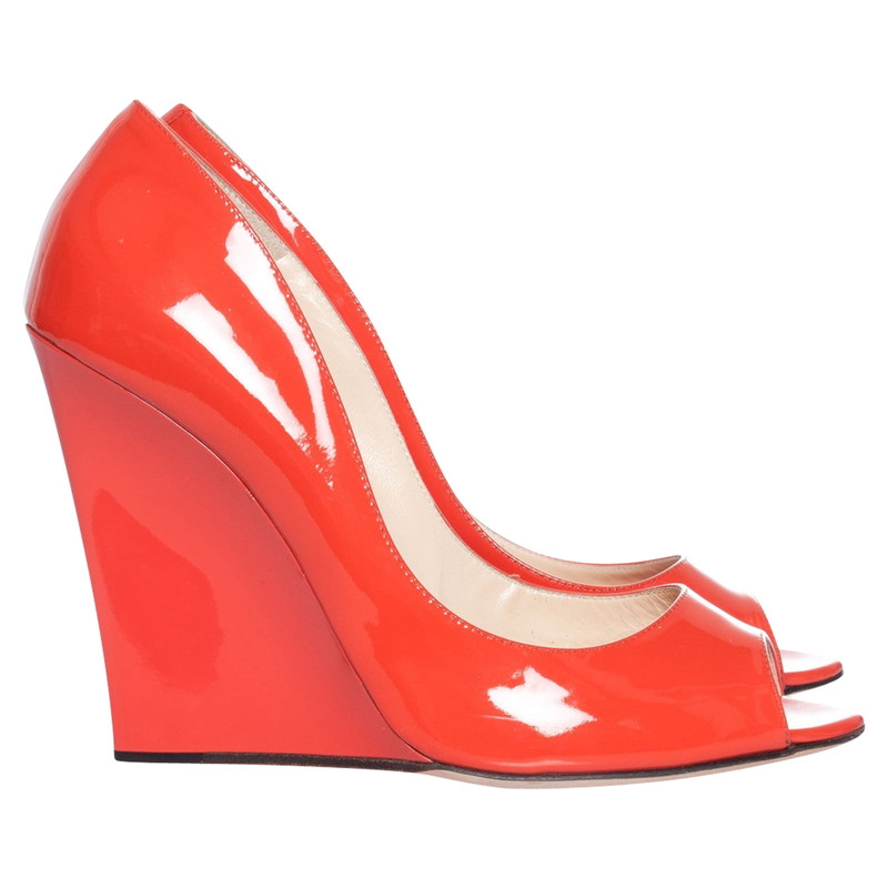Jimmy Choo Wedges Patent leather in