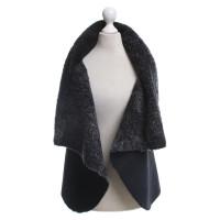 Anne Valerie Hash Bont vest in zwart / grijs