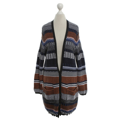 Stefanel Cardigan in Multicolor