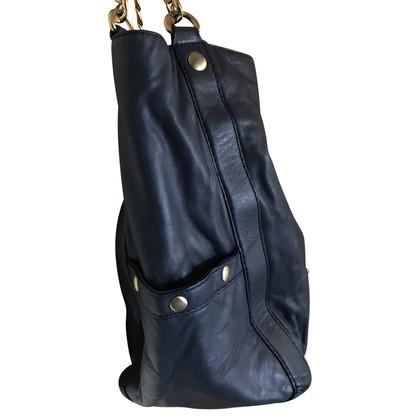 Michael Kors Blauwe schouder tas