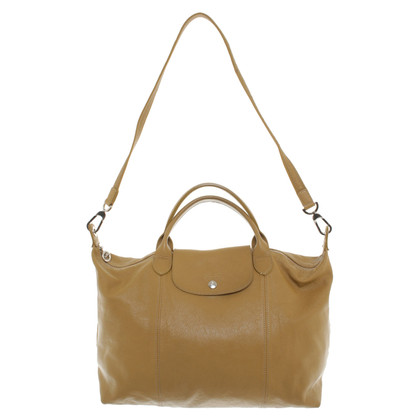 Longchamp Shoppers in ochre