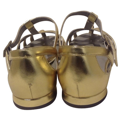 Marc Jacobs Sandalen in goud