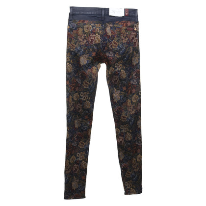7 For All Mankind Jeans avec un motif floral