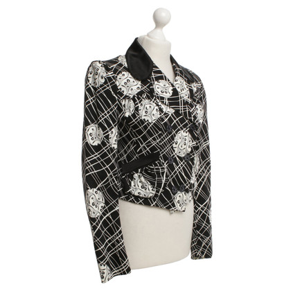 John Galliano Blazer met patroon
