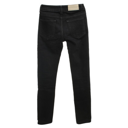 Acne Jeans in zwart