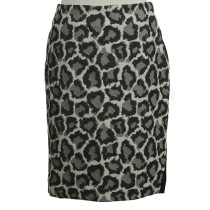 "Diane von Furstenberg skirt ""Emma"" with animal design"
