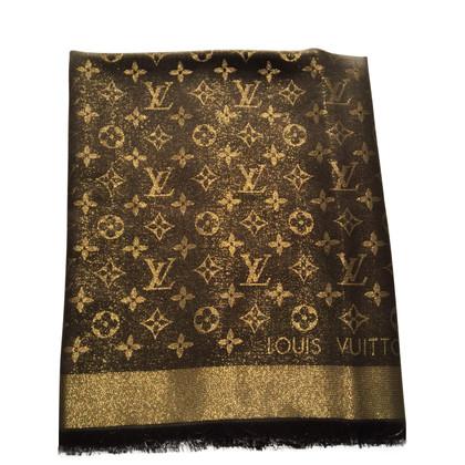 Louis Vuitton Monogram-shine doek in bruin