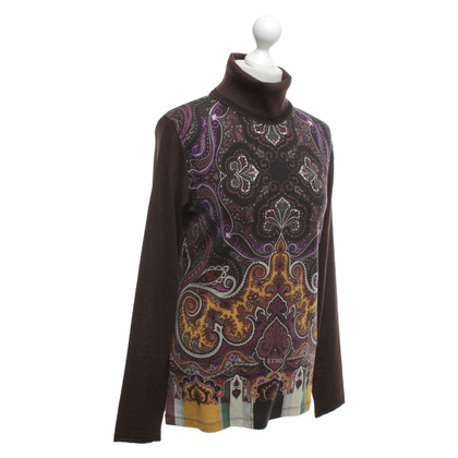 Etro top with turtleneck