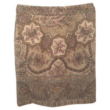 Etro skirt with Paisley pattern