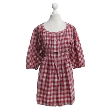 Odd Molly Blouse with check pattern