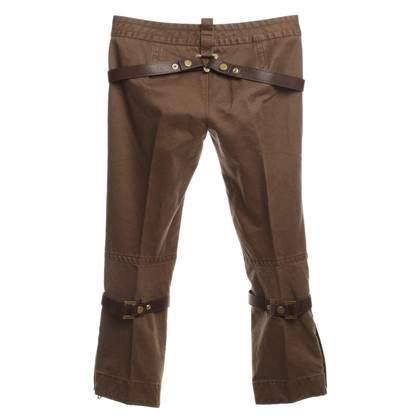 Dsquared2 Cotton pants in Brown