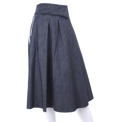 Bottega Veneta denim skirt