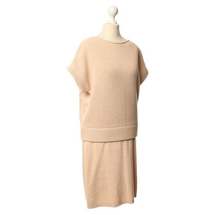 Cos Gebreide jurk in beige