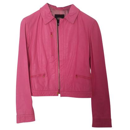Versace giacca di pelle
