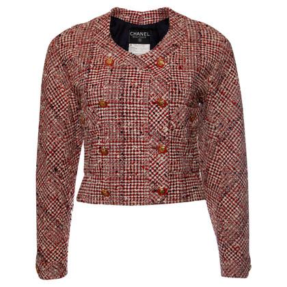 Chanel Red bouclé jacket