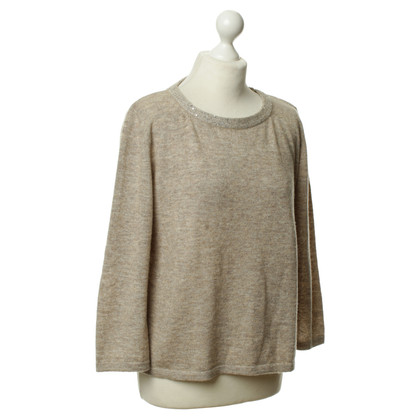 Fabiana Filippi Knit sweater in beige