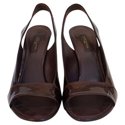 Louis Vuitton Patent leren sandalen