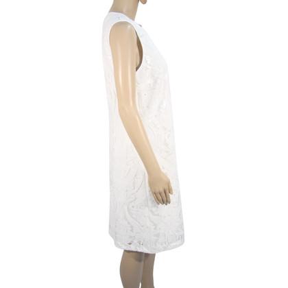 Barbara Schwarzer Lace dress in white