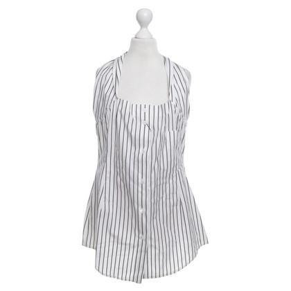 Dolce & Gabbana Neergeslagen blouse met streeppatroon