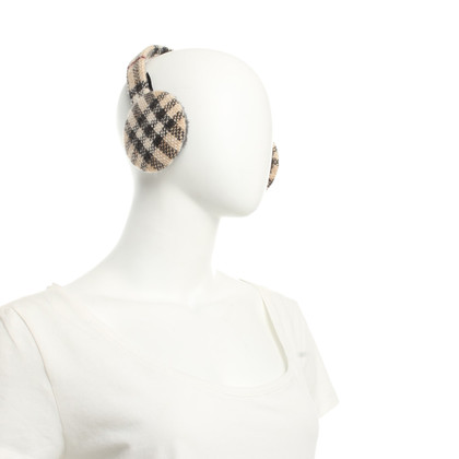 Burberry Earmuffs with pattern